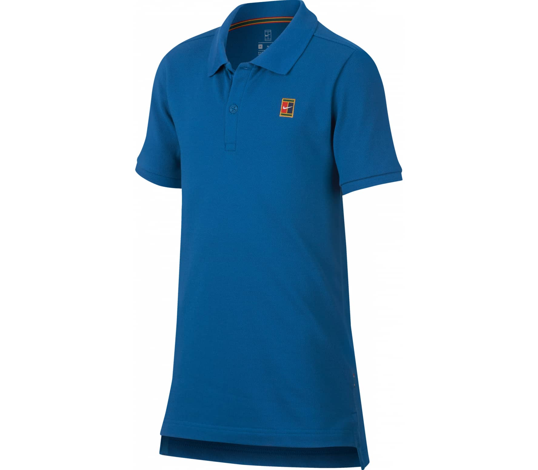 Nike - Court Barn tennis Polo (blå) - M