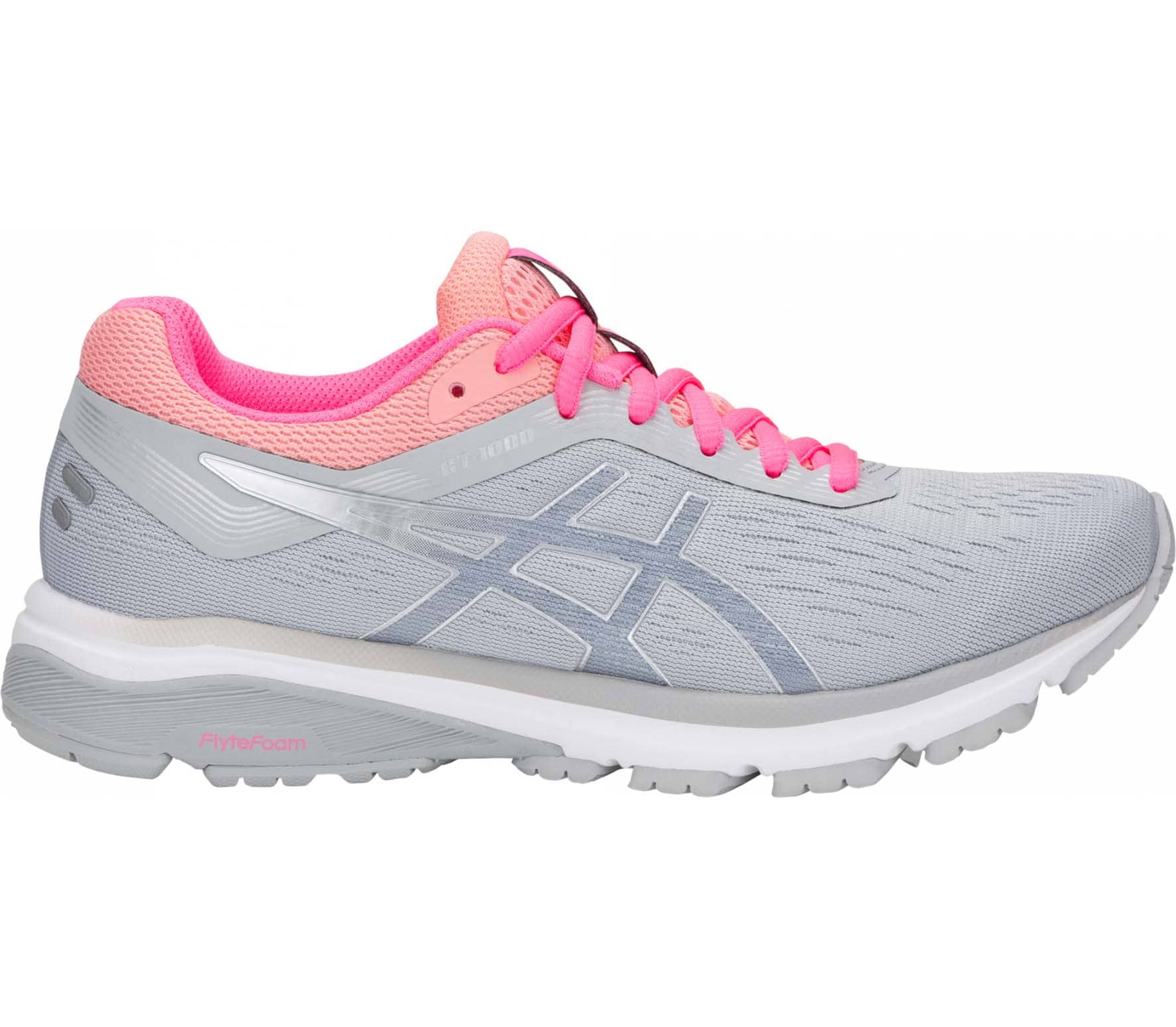 df26329a0e1f ASICS - GT-1000 7 women s running shoes (grey silver) - buy it at ...