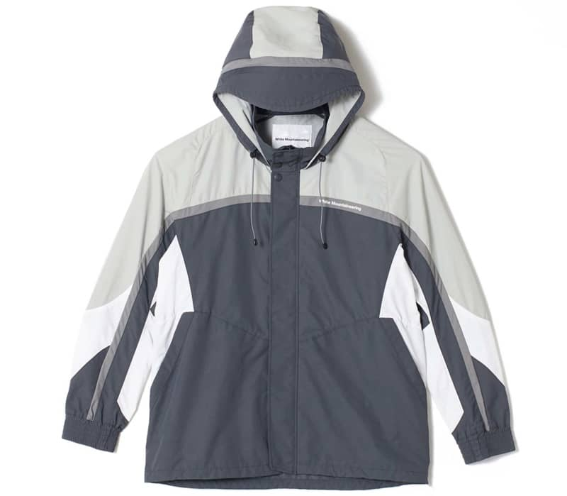 Contrasted Mountain Men Windbreaker