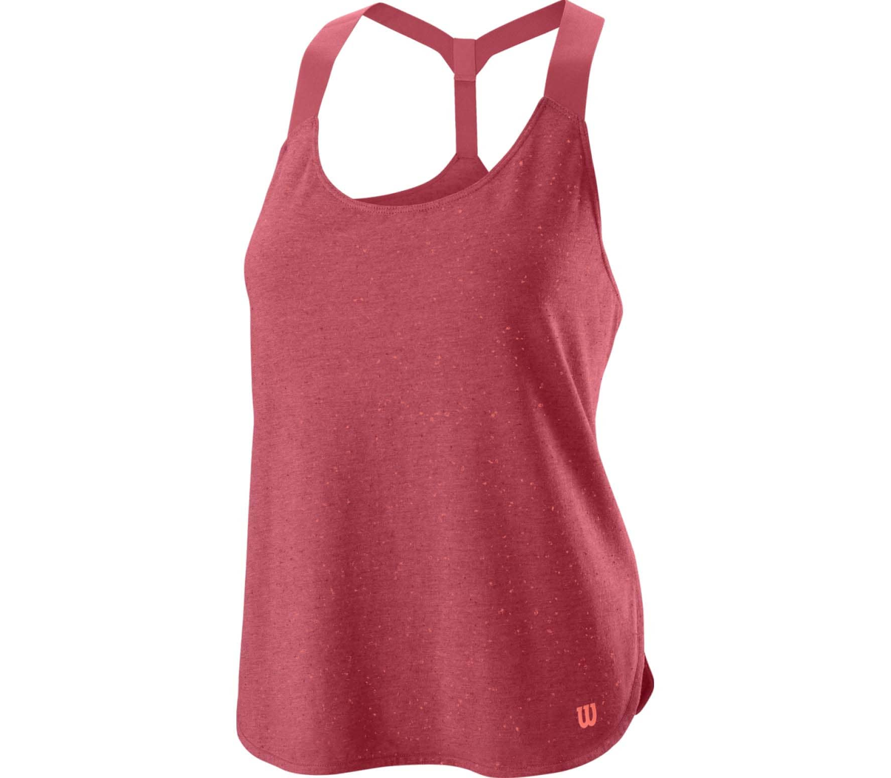 Competition Flecked Tank Damen Tennistop