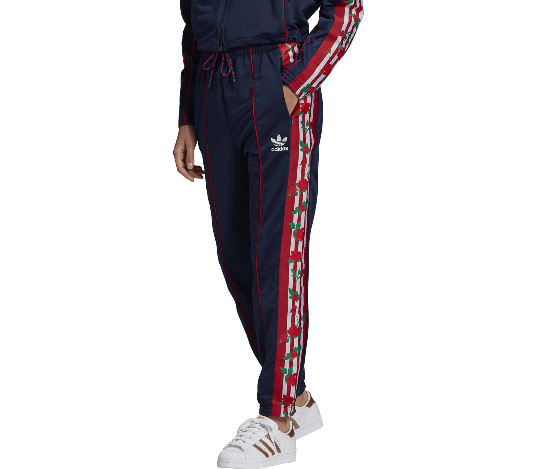 Warp Knitted Women Track Pants
