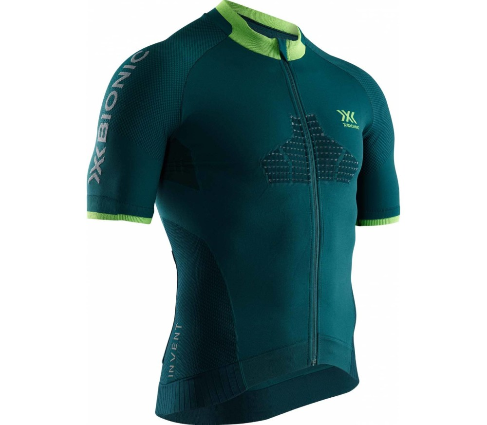 X-BIONIC Invent Men Cycling Jersey turquoise
