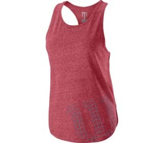 Stencil Tech Tank Damen Tennistop