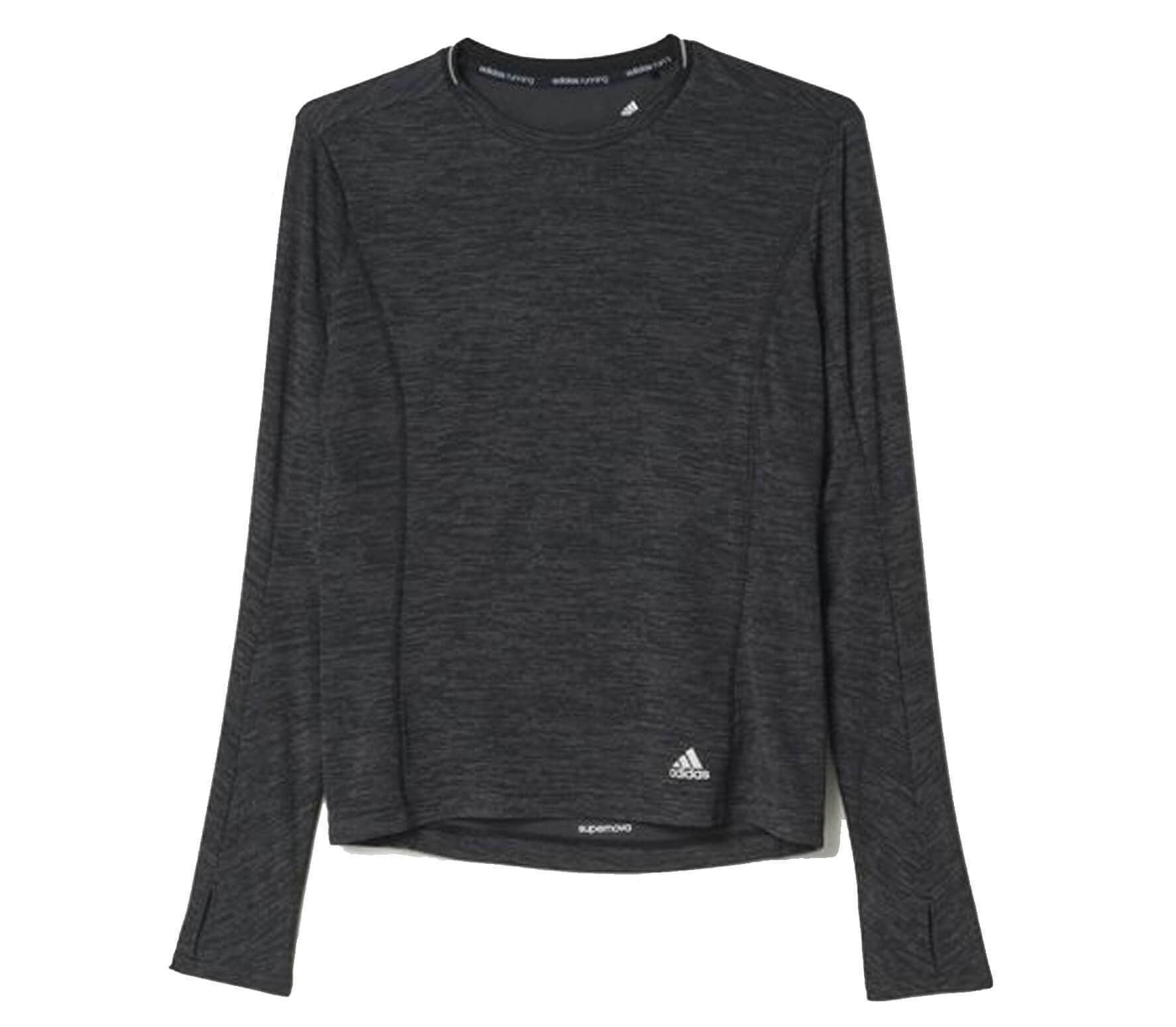 60c3769b Adidas - Supernova long-sleeved women's running top (black) - buy it ...