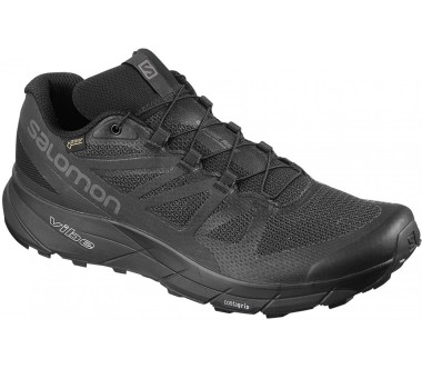 Salomon - Sense Ride GTX® Invisible Fit Herren Trailrunningschuh (schwarz)