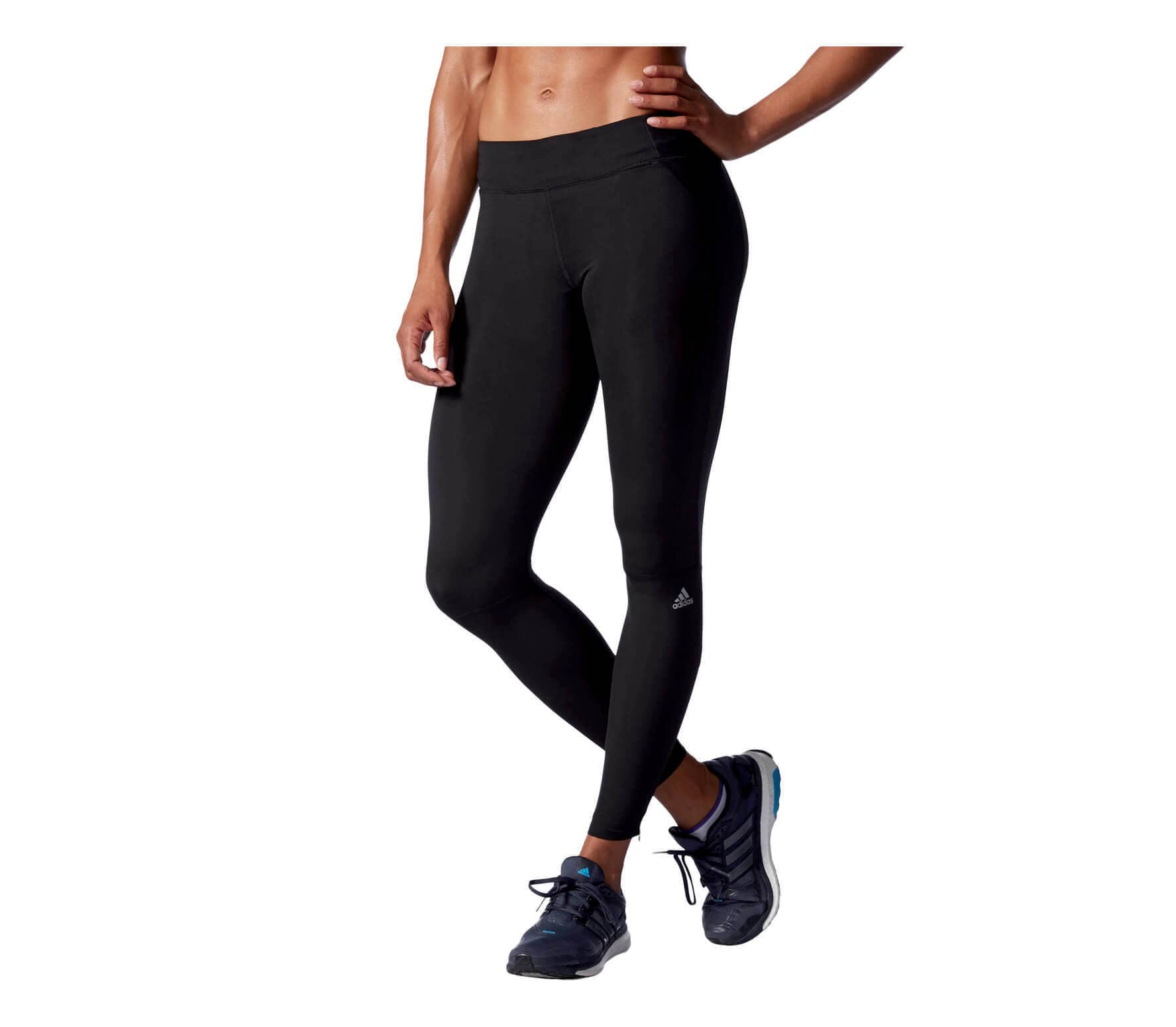 Da Adidas Pantaloncini Corsa Donna nero Long Tight Supernova wRXqRxgaZ