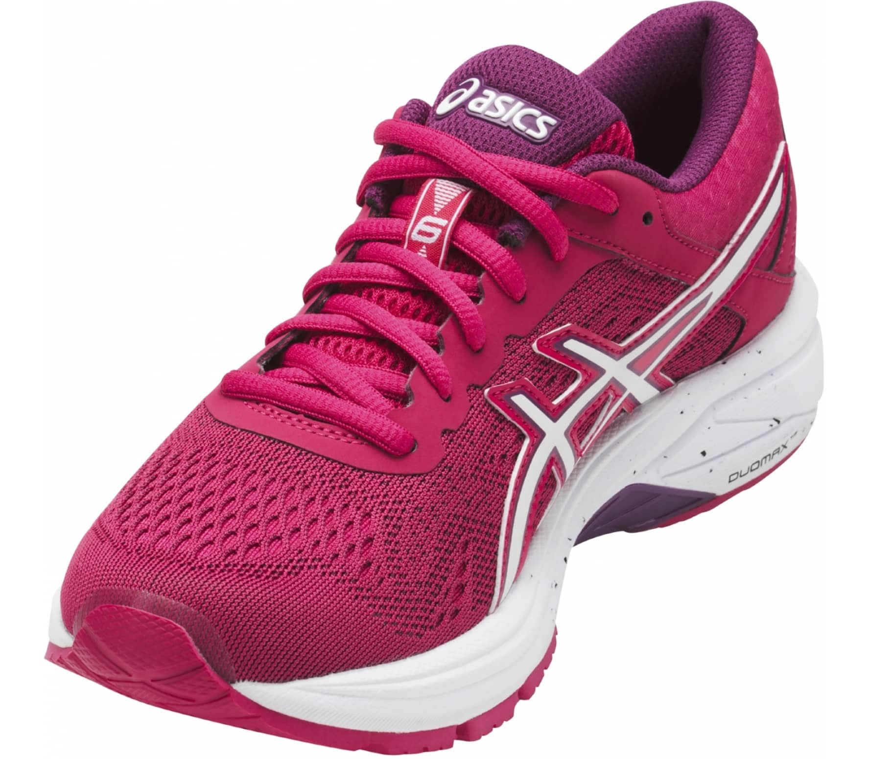 Asics - GT-1000 6 women s running shoes (pink white) - buy it at the ... 2cc94a58251f
