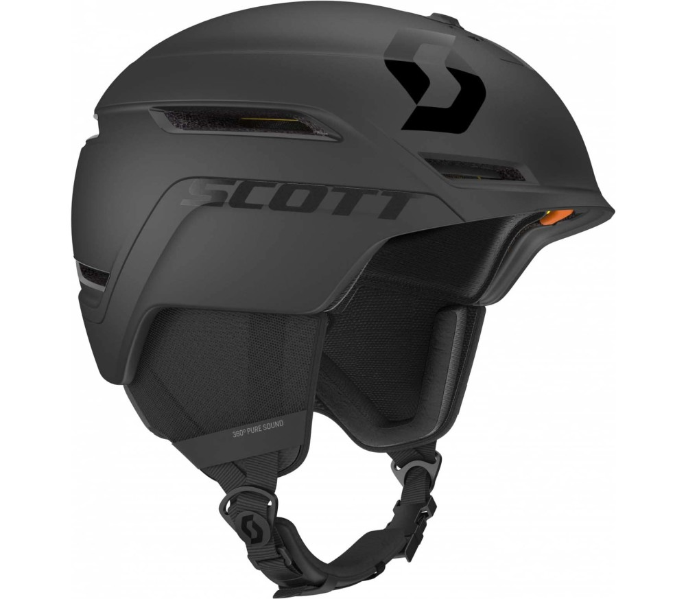 Scott - Symbol 2 Plus D Skihelm (schwarz)