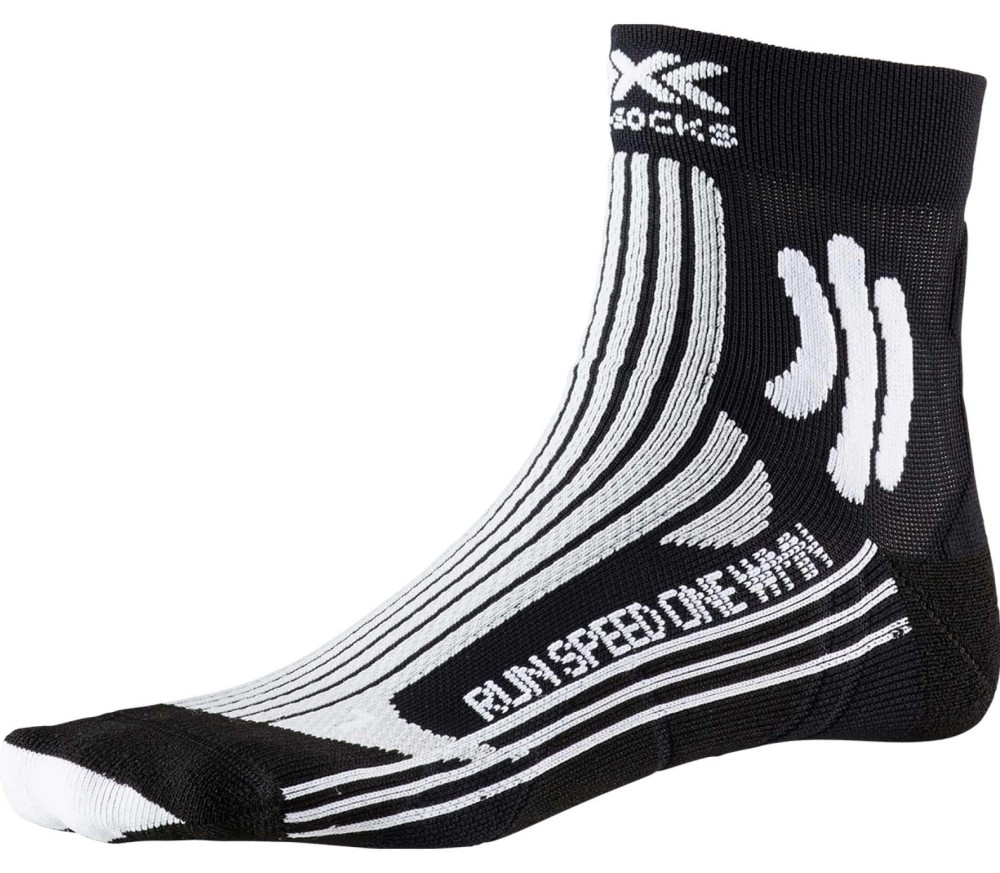 X-BIONIC Speed One Damen Laufsocken schwarz