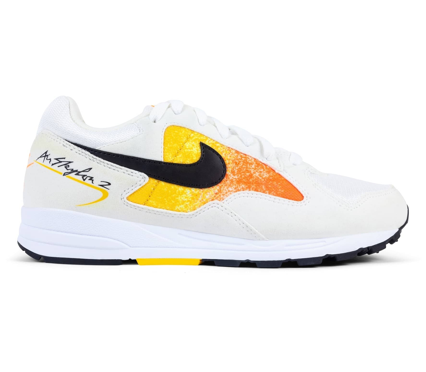 low priced 464da 992ef Nike Sportswear - Air Skylon II damsneakers (vit orange)