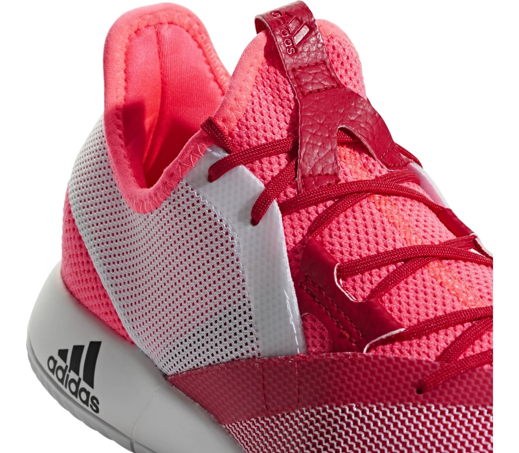 finest selection 22f55 e1bb9 adidas performance - Adizero Defiant Bounce womens tennis shoes (red)