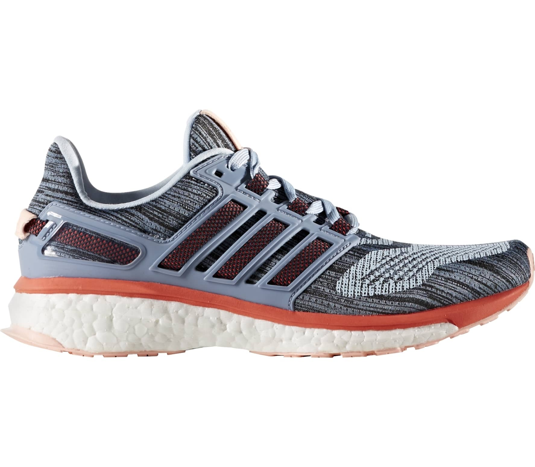 c41e143d4 Adidas - Energy Boost 3 women s running shoes (grey red) - buy it at ...