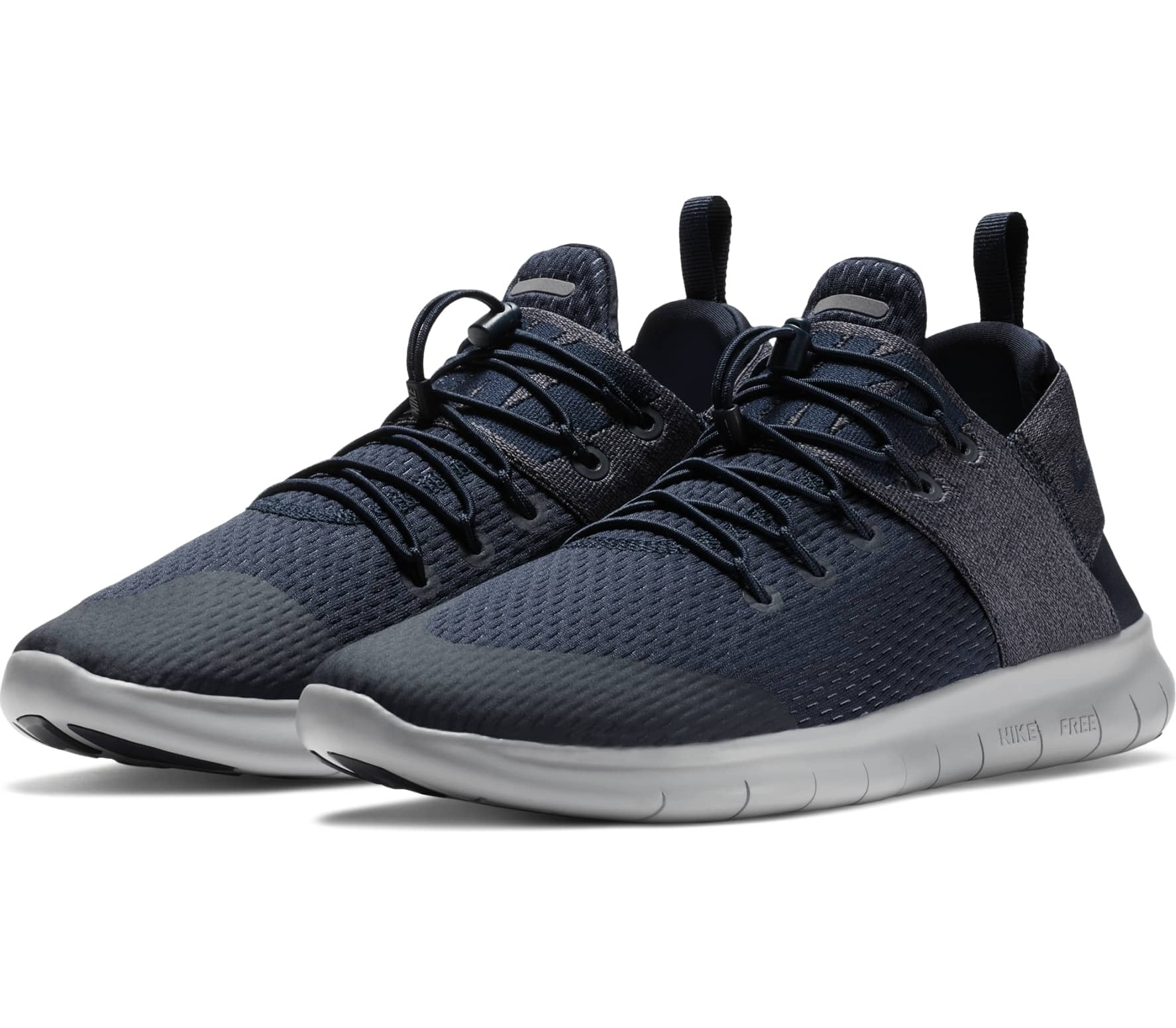 17e8f405ee786 Nike - Free RN Commuter 2017 men s running shoes (dark blue grey ...