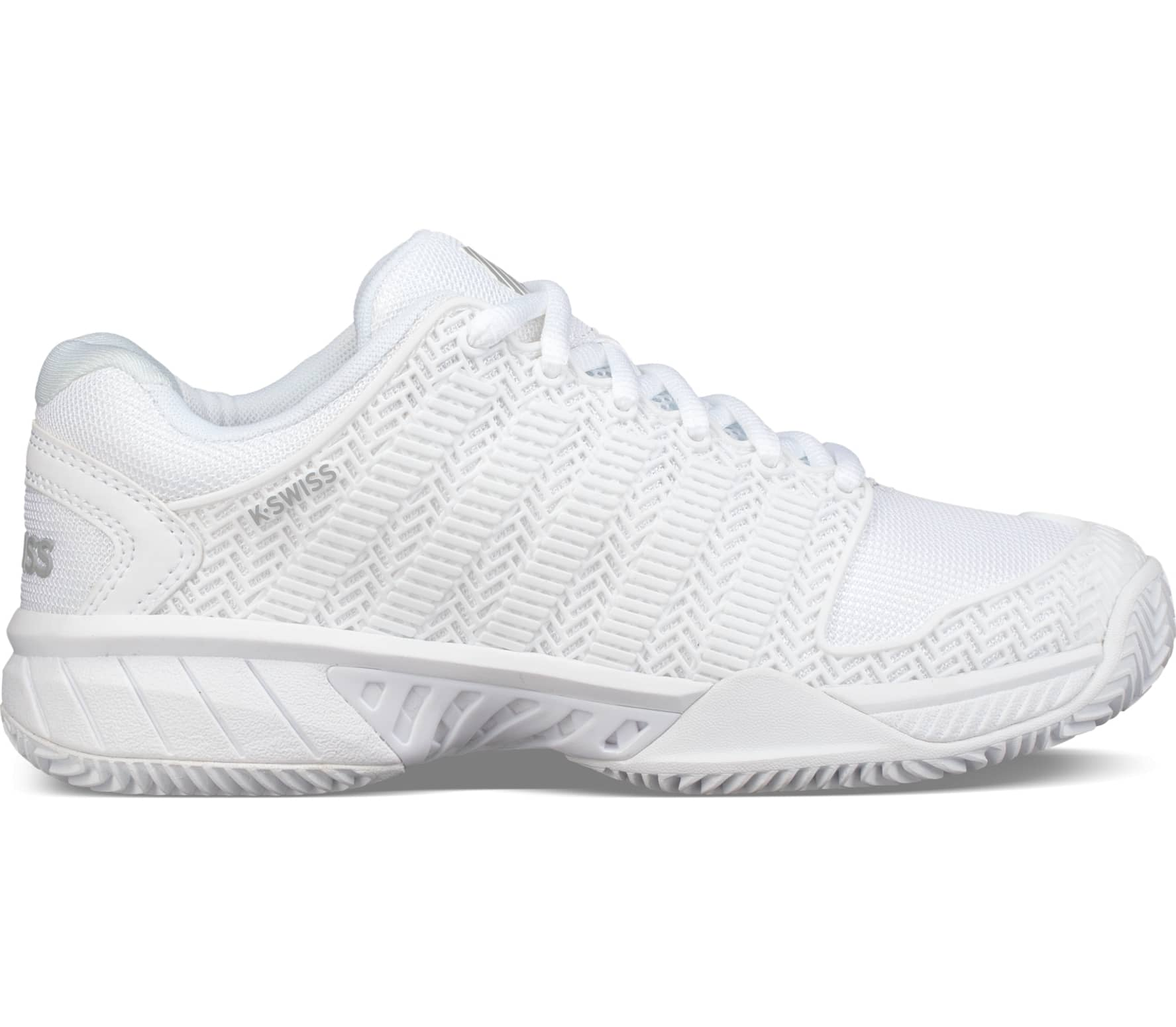 the best attitude 24537 4664e K-Swiss - Hypercourt Express Hb Special Edition women s tennis shoes  (white grey