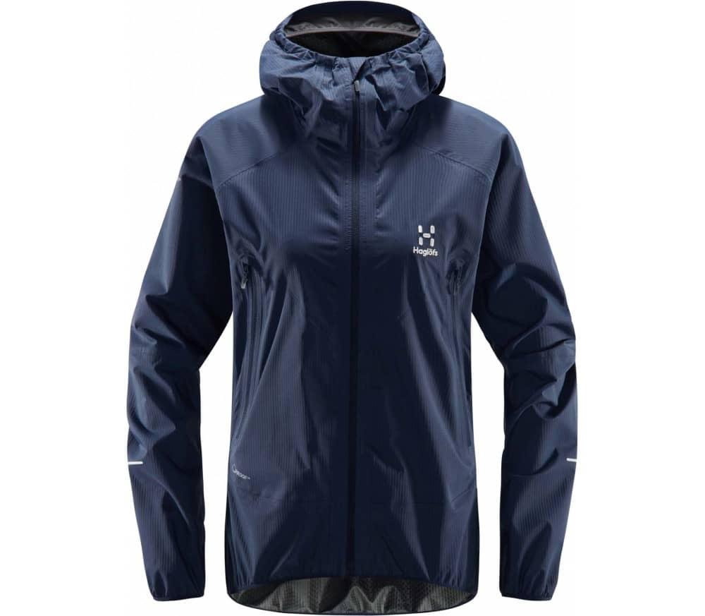 Haglöfs L.I.M PROOF Multi Women Rain Jacket blue