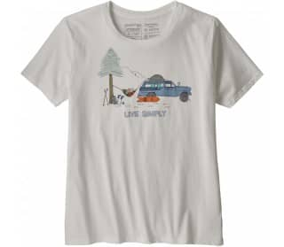 Live Simply Lounger Organic Crew Women T-Shirt
