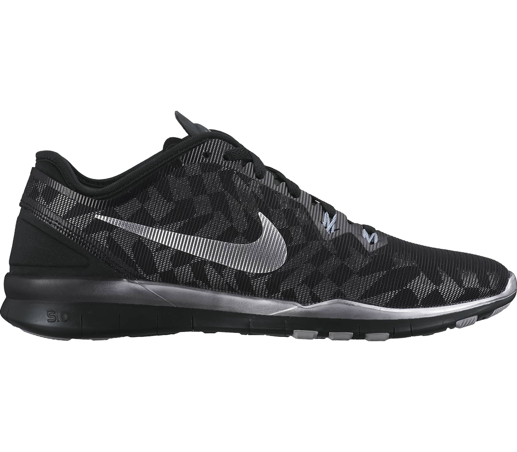 save off 6c553 e7b76 Nike - Free 5,0 TR Metallic womens training shoes (blackgrey)
