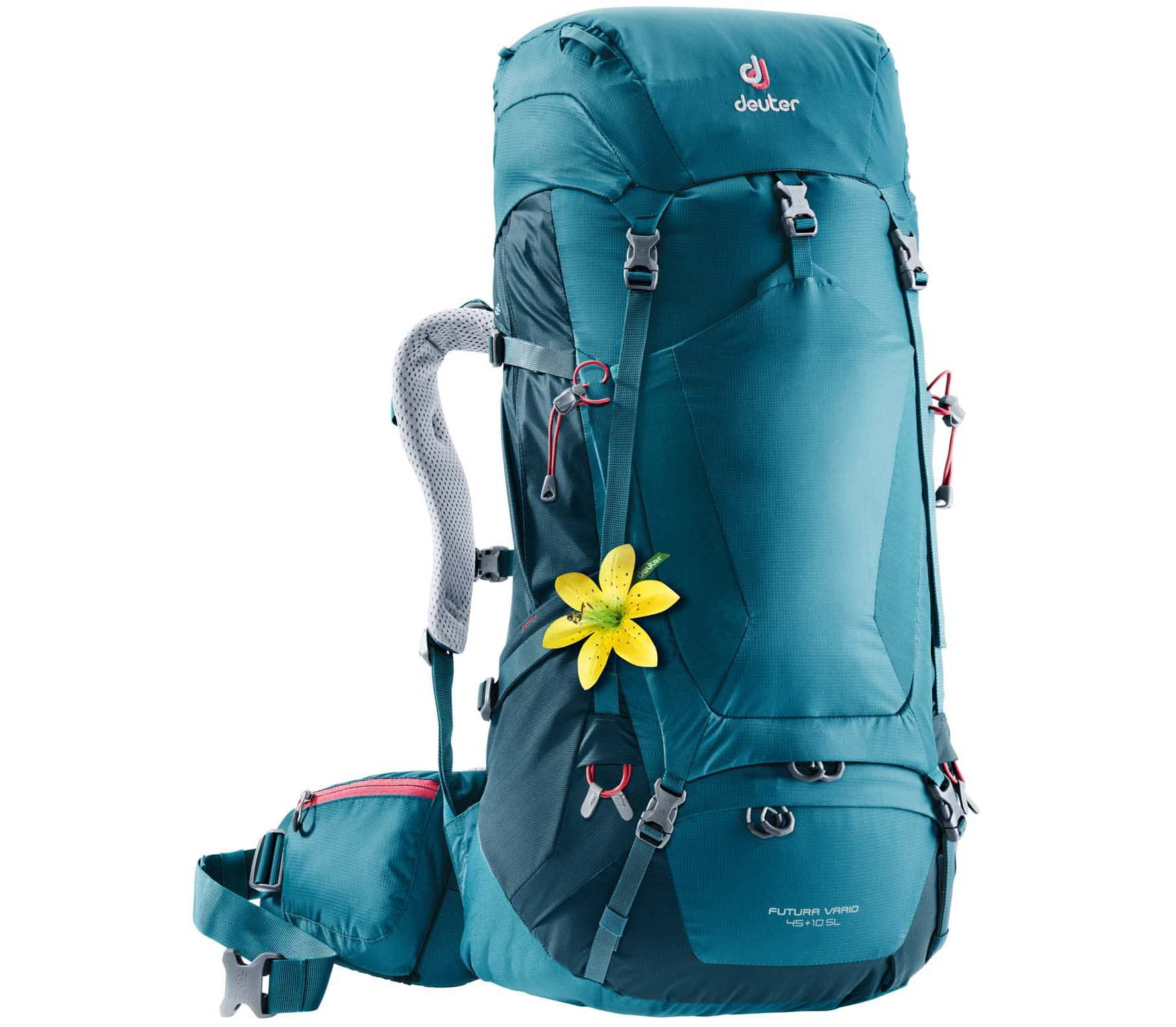 Deuter - Futura Vario 45 + 10 SL women's hiking backpack (blue)