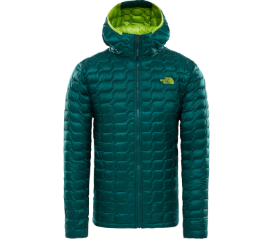 The North Face - ThermoBall Pro men's insulating jacket (green)