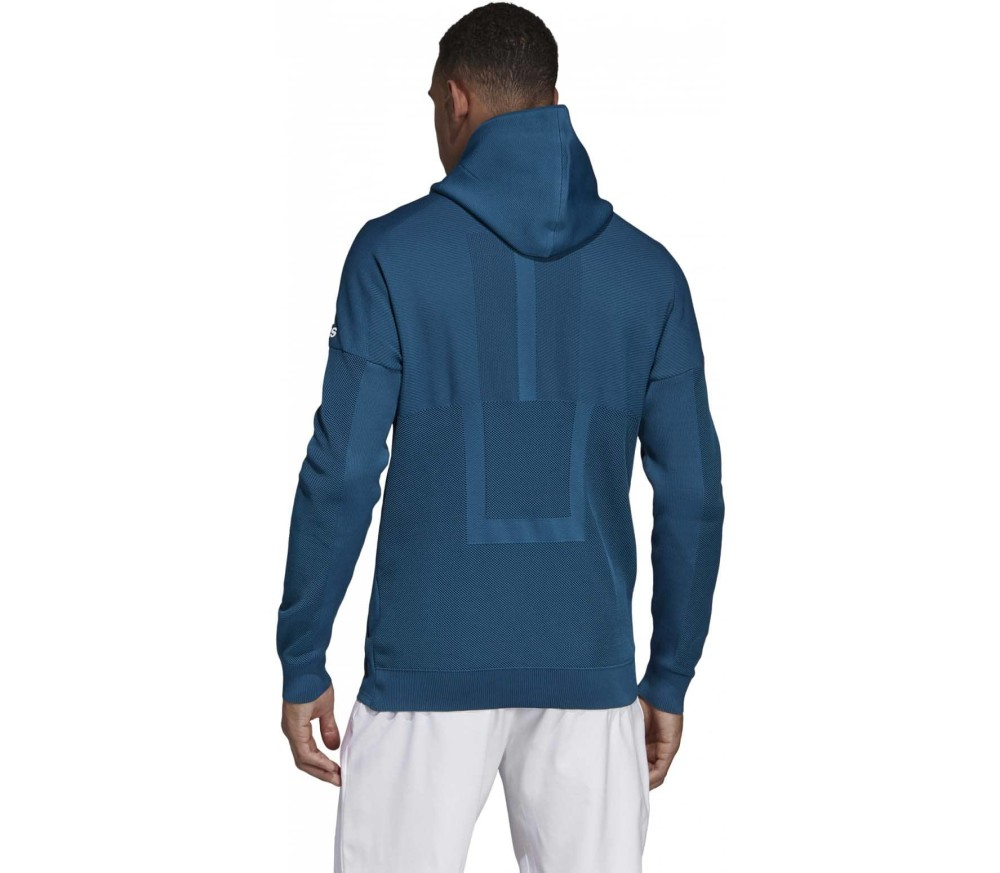adidas Performance - Parley ZNE hoodie men's tennis jacket (turquoise)
