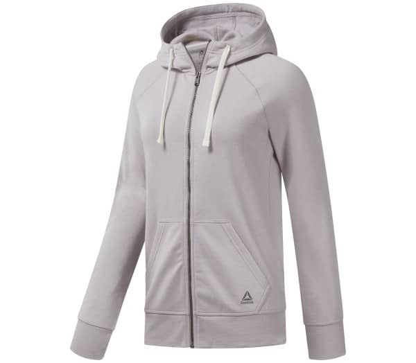 REEBOK El Fl Full Zip Damen Trainingsjacke - 1