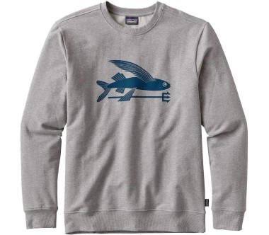 Patagonia - Flying Fish Midweight Crew men's sweatshirt (grey/blue)