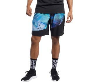 Epic Q1 AOP Herren Trainingsshorts
