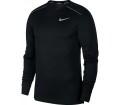Nike - Dri-FIT Miler Herren Lauflongsleeve (schwarz)
