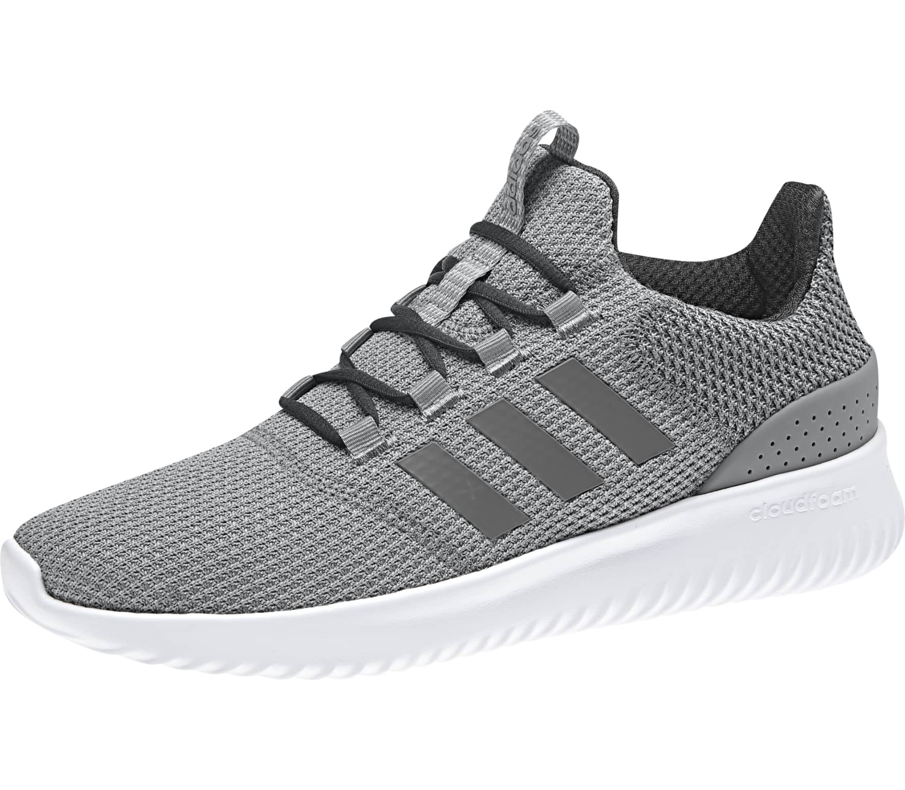 pretty nice 9ca76 1e55d Adidas - Cloudfoam Ultimate men s running shoes (grey blue)