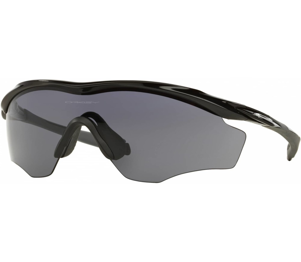 oakley m2 bike brille schwarz o s im online shop von. Black Bedroom Furniture Sets. Home Design Ideas