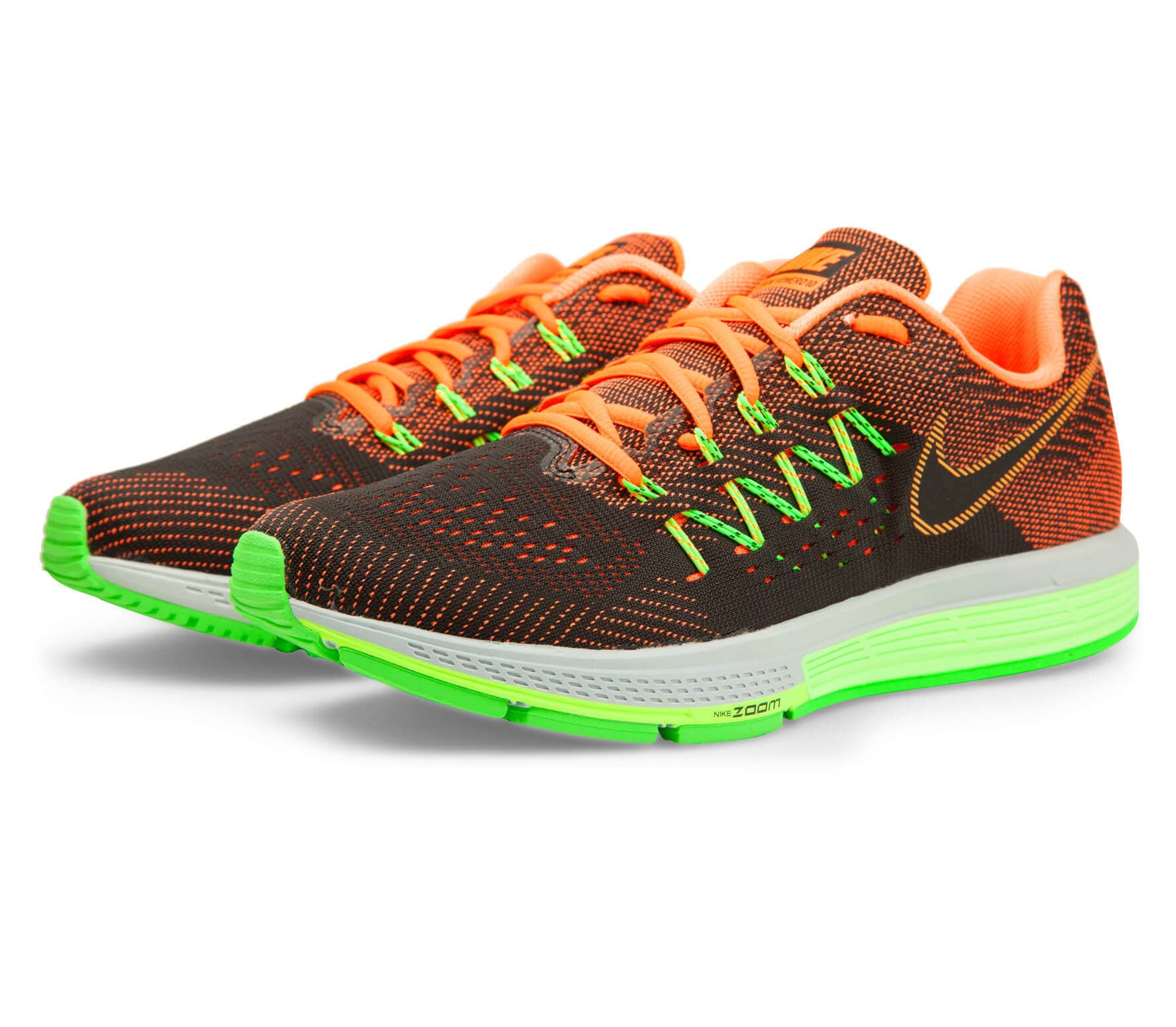 pretty nice 1dba9 c741f Nike - Air Zoom Vomero 10 men s running shoes (green orange)