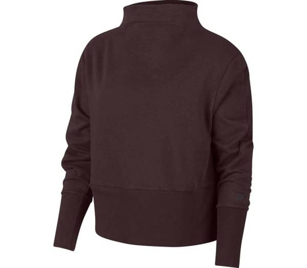 NIKE Mock Neck Women Sweatshirt - 1