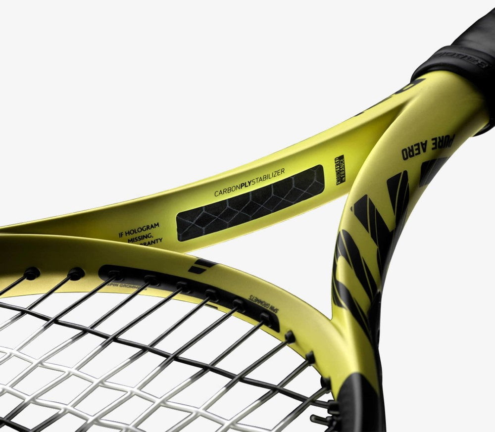 Babolat - Pure Aero (unstrung) tennis racket (yellow)