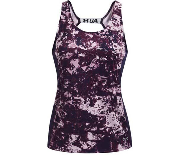 UNDER ARMOUR Fly By Printed Women Running-Top - 1