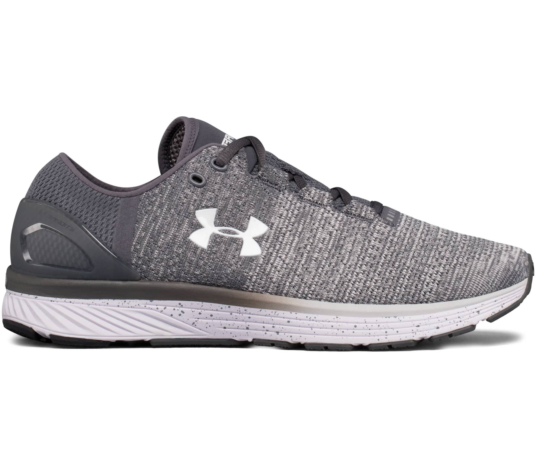 2350efa91510 Under Armour - Charged Bandit 3 men s running shoes (grey) - buy it ...