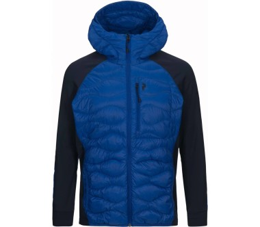 Peak Performance - Helium Hybrid men's down jacket (blue)