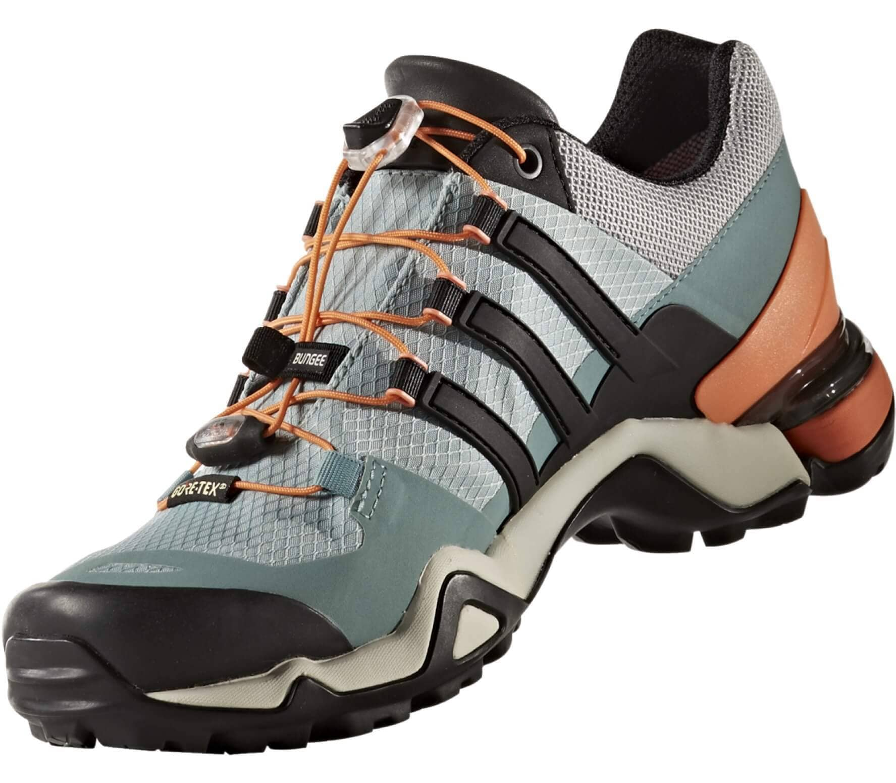 huge discount 0de9f d67c5 Adidas - Terrex Fast R GTX womens hiking shoes (light greenblack)