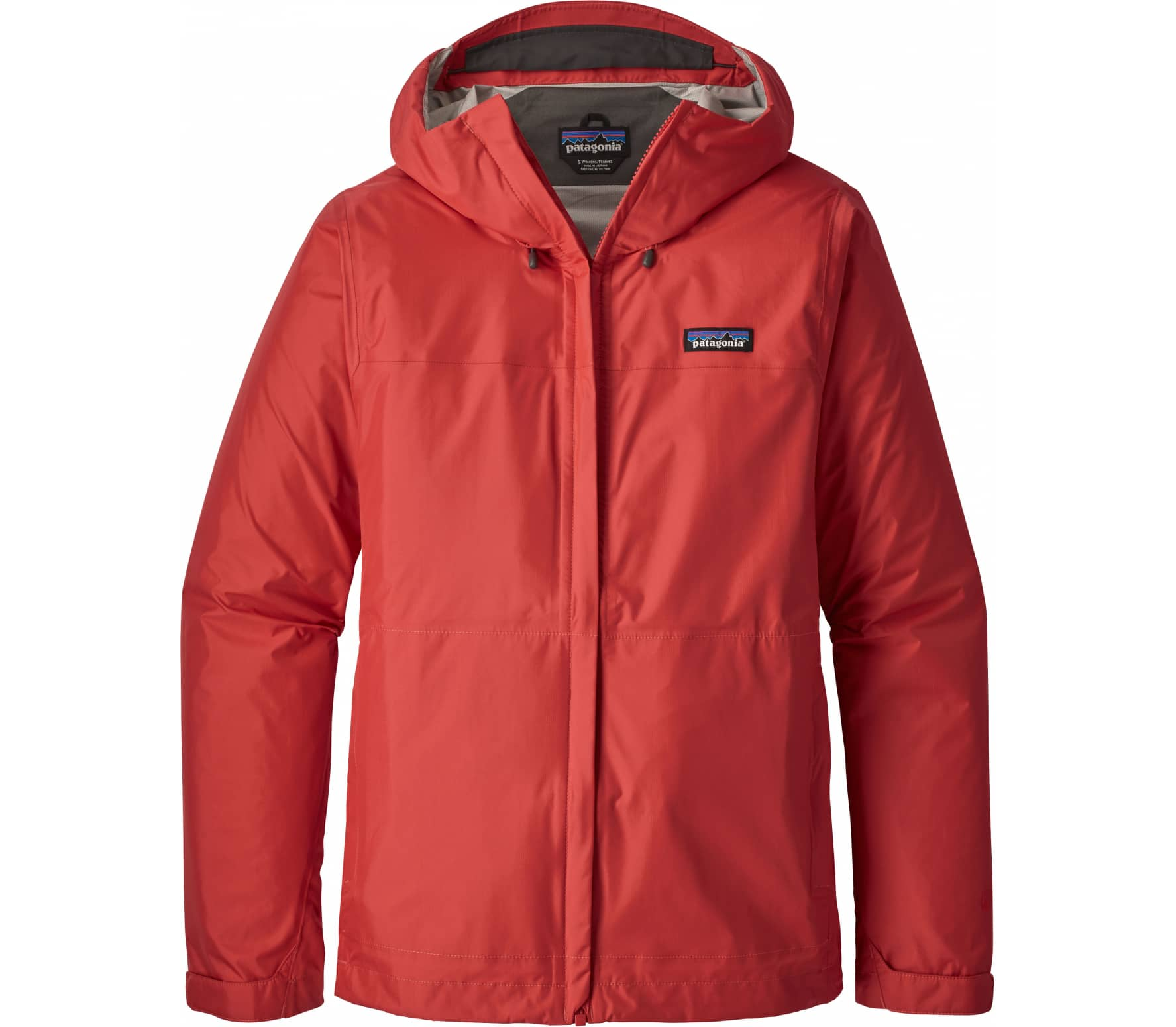 Patagonia - Torrentshell women's raincoat (red)