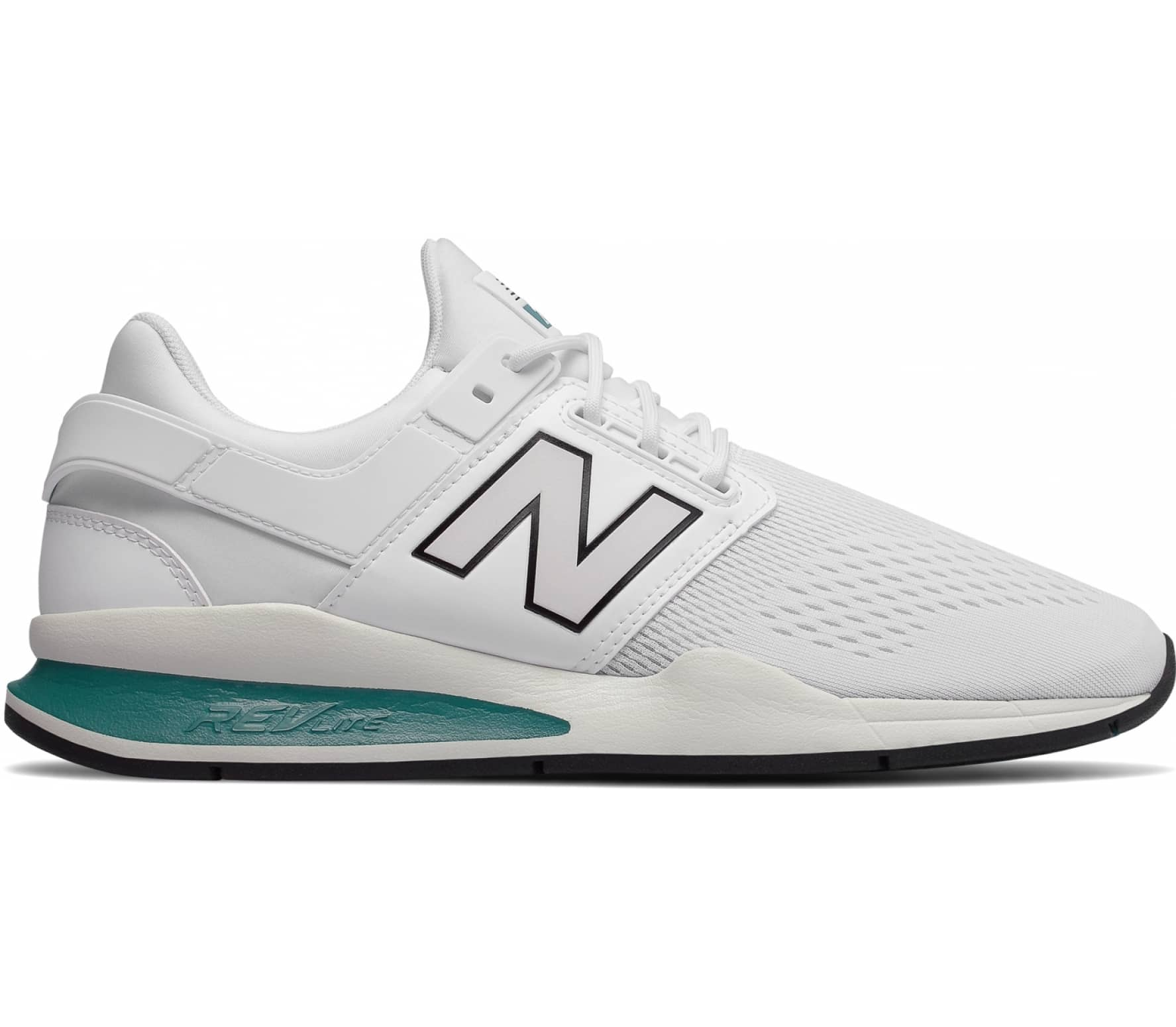 New Balance MS247 Heren Sneakers wit