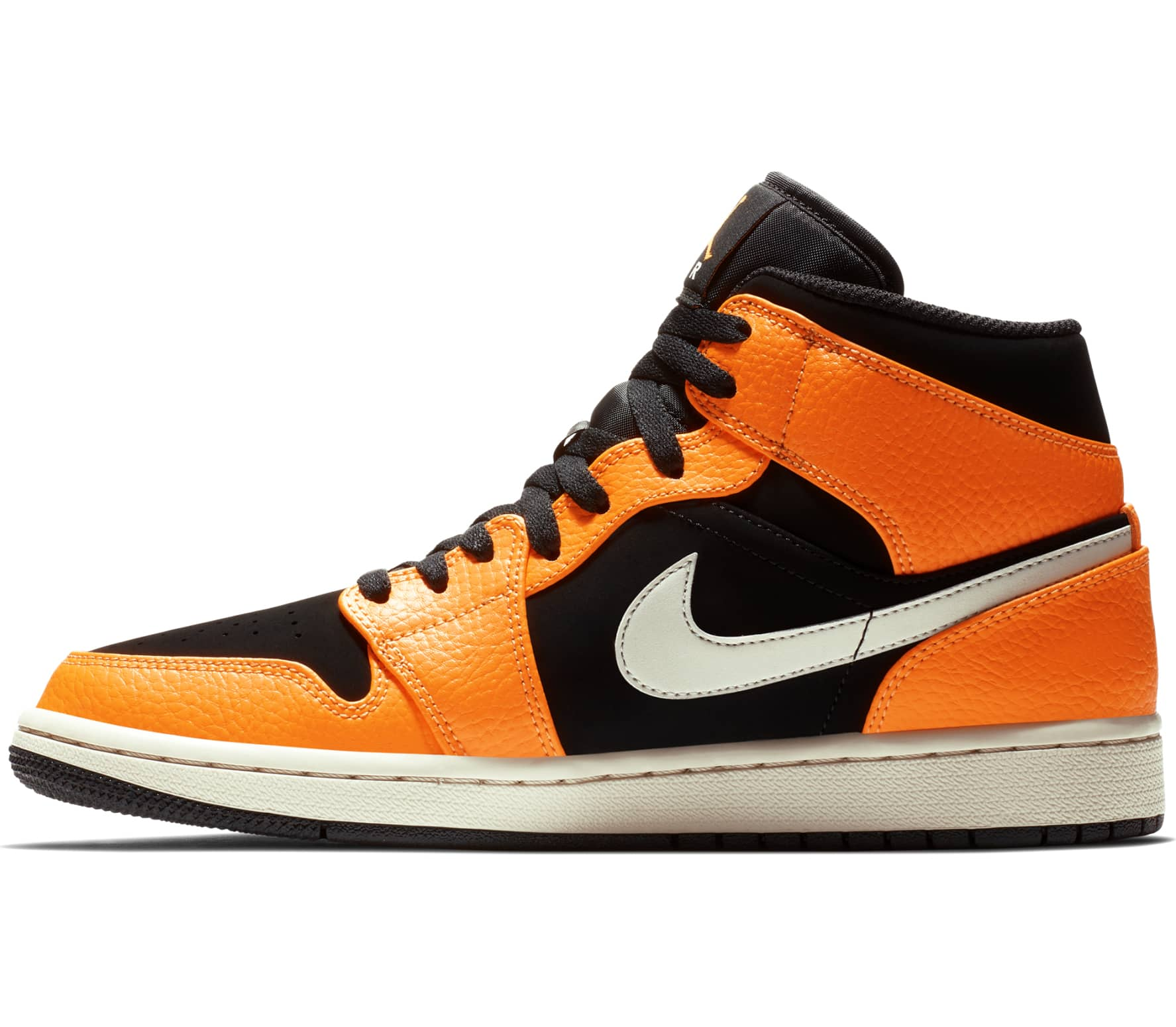 Jordan - Air 1 Mid Herren Sneaker (orange)