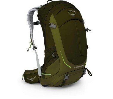 Osprey - Stratos 34 men's technical hiking rucksack (dark green)