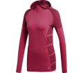 adidas Performance - Ultra Sweat à capuche Femmes Lauflongsleeve (rose)