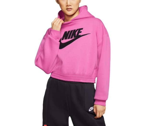 NIKE SPORTSWEAR Red Femmes Sweat à capuche - 1