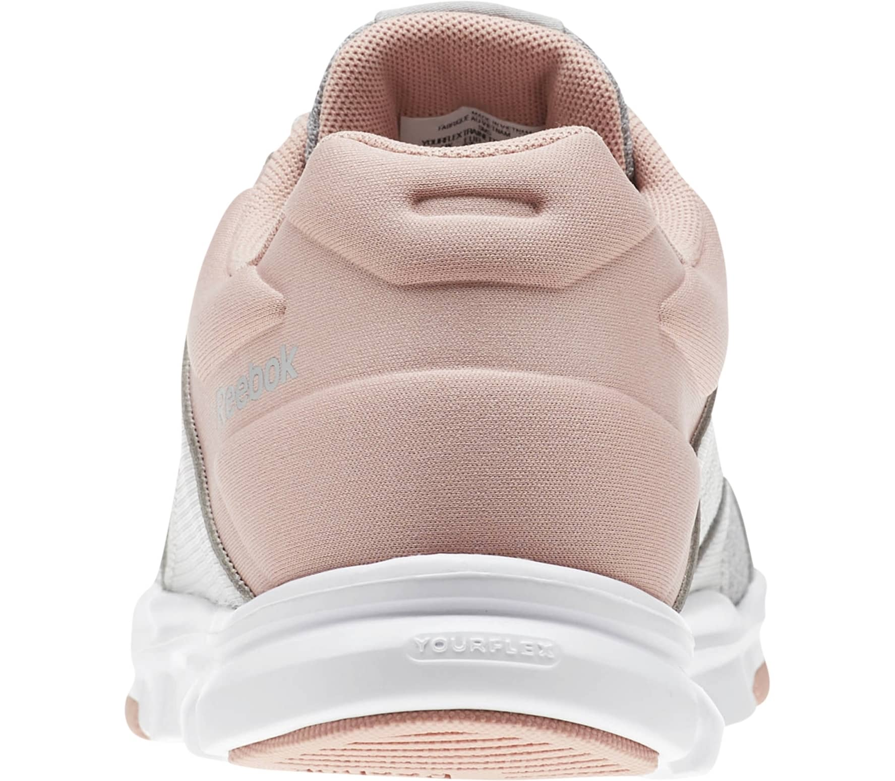 4a94cd7096f9 Reebok - Yourflex Trainette 10 MT women s training shoes (white pink)