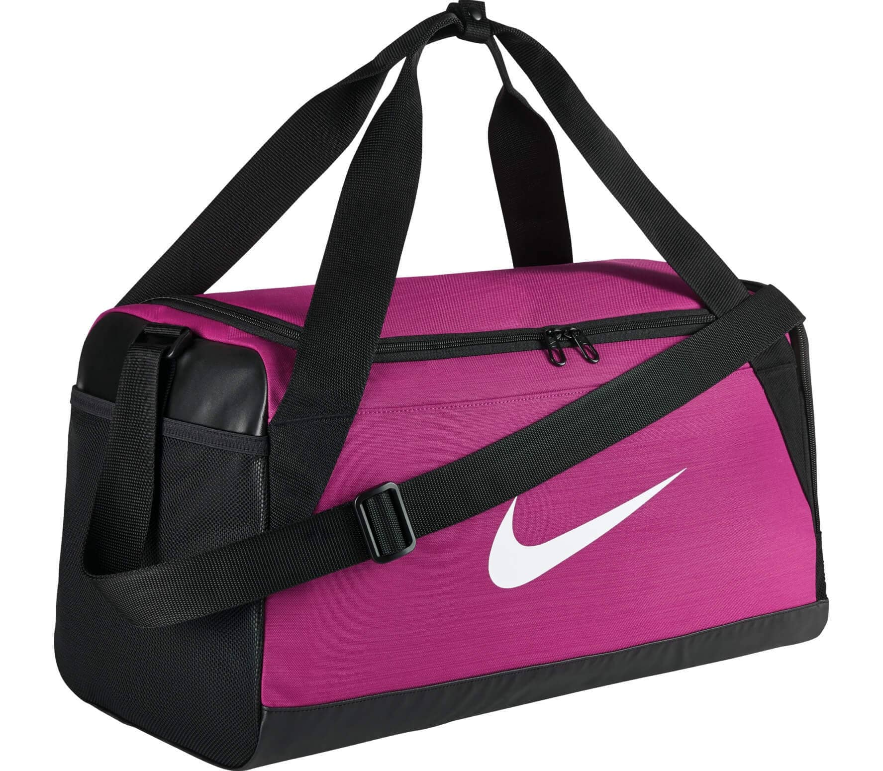bdb3c24eb4e1 Nike - Brasilia Small men s training duffel bag bag (pink black ...