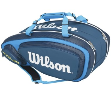 Wilson - Tour V 9Pk Bag tennis bag (blue/light blue)