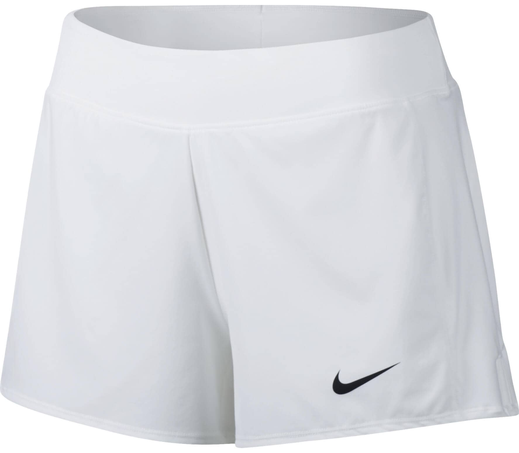 b34221473829 Nike - Court Flex Pure women s tennis shorts (white black) - buy it ...