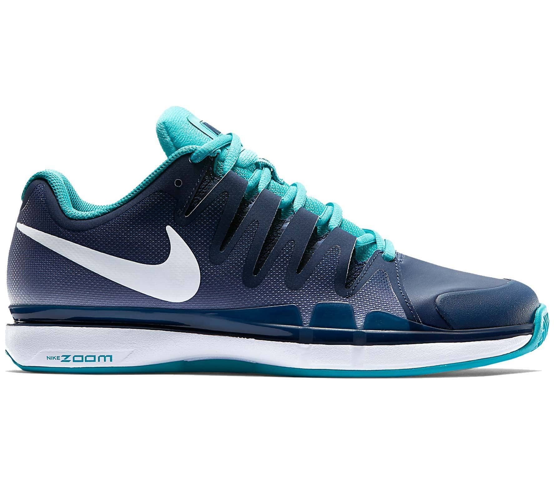 purchase cheap f2431 1c0df Nike - Zoom Vapor 9.5 Tour Clay men s tennis shoes (dark blue turquoise)