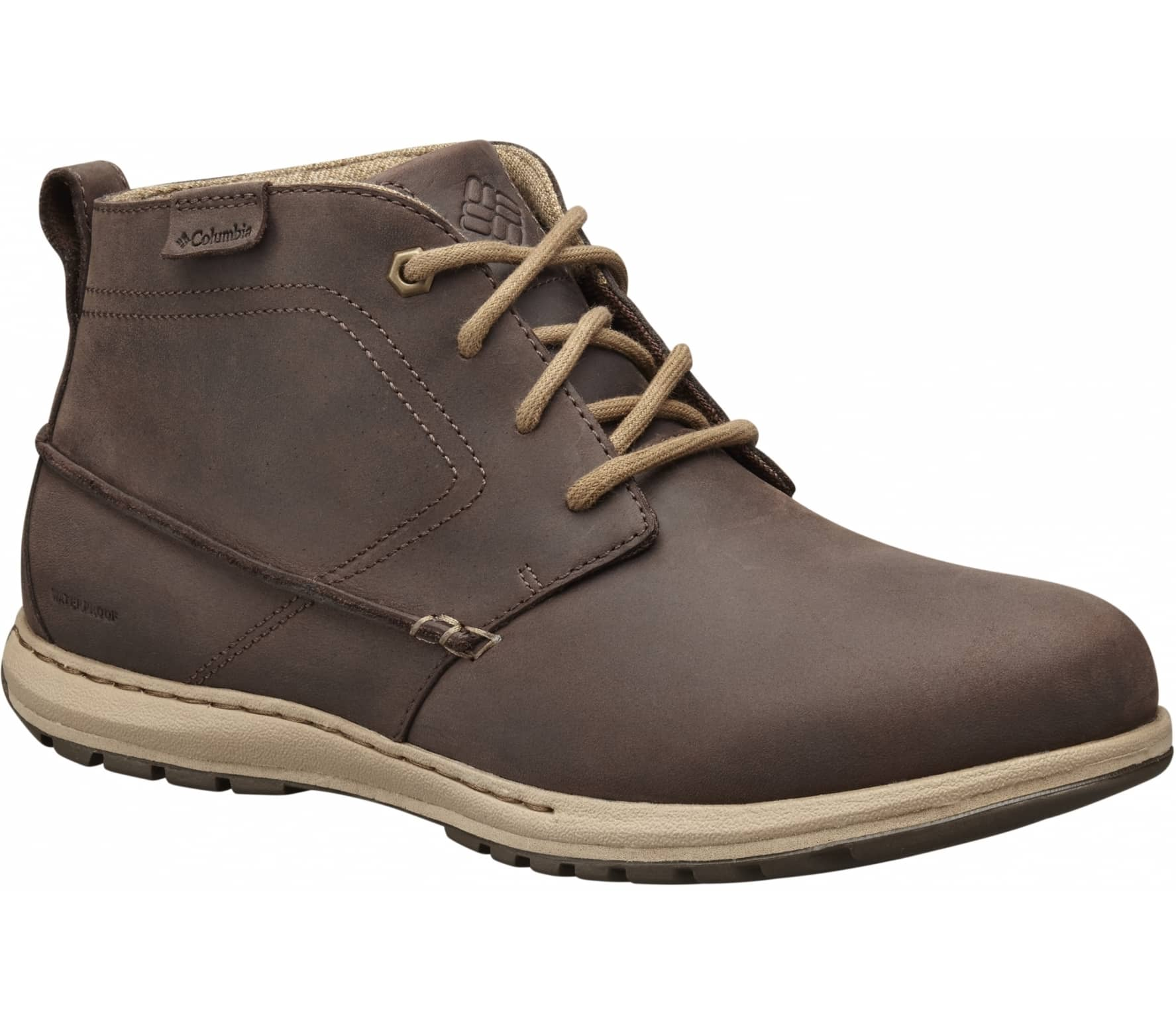 Chukka Columbia Chaussures Hommes Davenport D Waterproof Leather UPnHS5Pa
