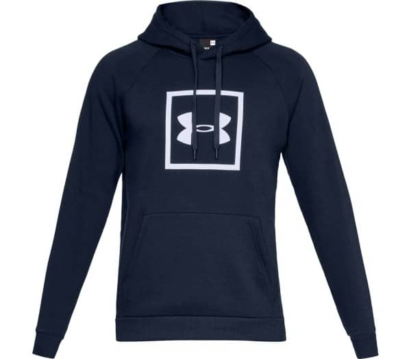 UNDER ARMOUR Rival Fleece Box Logo Mænd Hættetrøje - 1